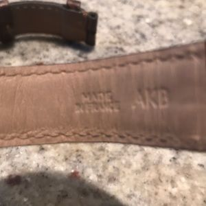 Cartier Jewelry - Cartier Alligator watch strap